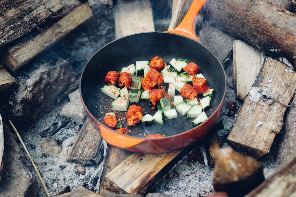 Our family is going on a 2-week summer camping vacation this summer that will include a tent, cooler and camping stove/grill. Could you give me some recommendations for healthy camp meals?